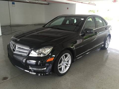 2013 Mercedes-Benz C-Class for sale at CHASE MOTOR in Miami FL