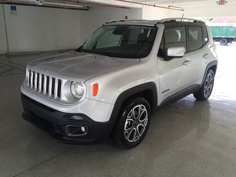 2016 Jeep Renegade for sale at CHASE MOTOR in Miami FL