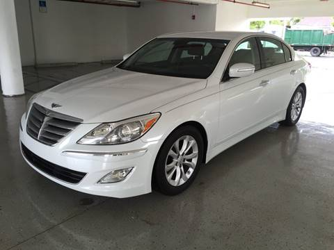2013 Hyundai Genesis for sale at CHASE MOTOR in Miami FL
