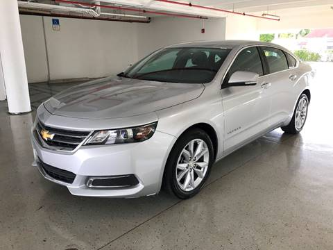 2016 Chevrolet Impala for sale at CHASE MOTOR in Miami FL