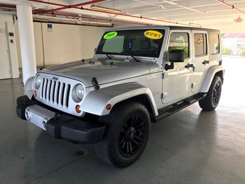 2008 Jeep Wrangler Unlimited for sale at CHASE MOTOR in Miami FL