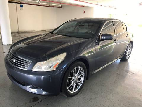 2008 Infiniti G35 for sale at CHASE MOTOR in Miami FL