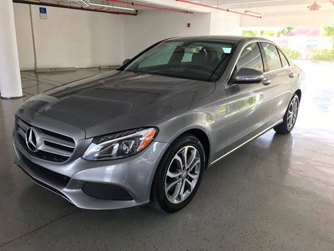 2015 Mercedes-Benz C-Class for sale at CHASE MOTOR in Miami FL