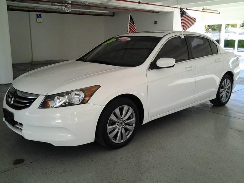 2012 Honda Accord for sale at CHASE MOTOR in Miami FL