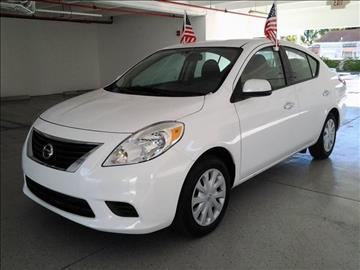 2014 Nissan Versa for sale at CHASE MOTOR in Miami FL