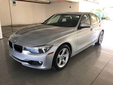 2015 BMW 3 Series for sale at CHASE MOTOR in Miami FL
