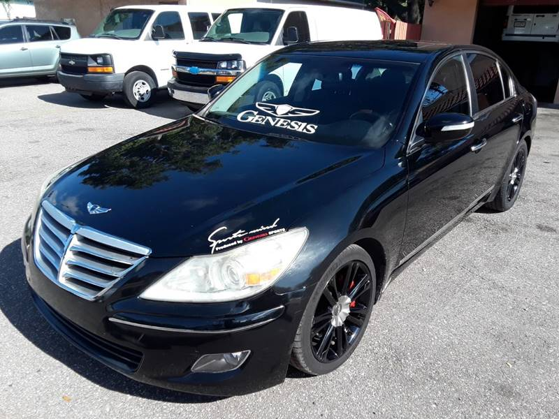 2009 Hyundai Genesis For Sale At Gold Motors Auto Group Inc In Tampa FL