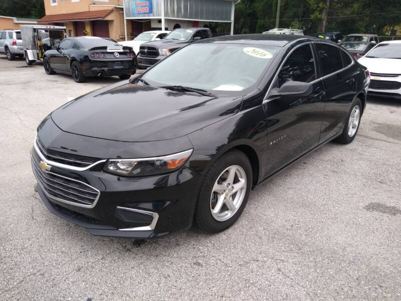 2016 Chevrolet Malibu for sale at Gold Motors Auto Group Inc in Tampa FL