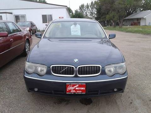 2003 BMW 7 Series for sale in Minot, ND