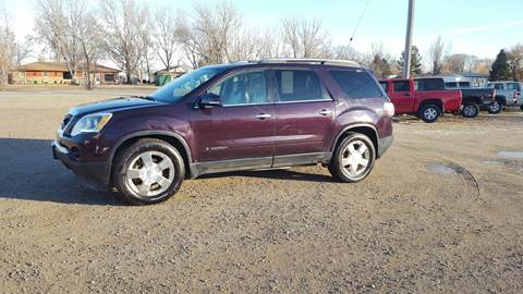 2008 GMC Acadia for sale at Ron Lowman Motors Minot in Minot ND