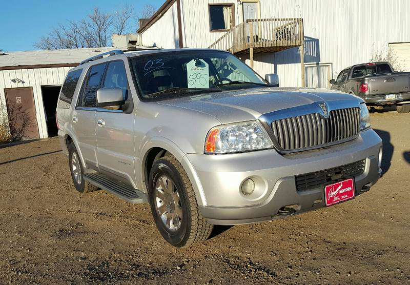2003 Lincoln Navigator for sale at Ron Lowman Motors Minot in Minot ND