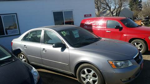 2006 Hyundai Sonata for sale at Ron Lowman Motors Minot in Minot ND