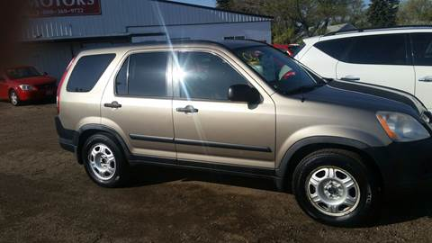 2006 Honda CR-V for sale at Ron Lowman Motors Minot in Minot ND