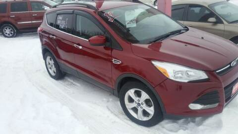 2014 Ford Escape for sale at Ron Lowman Motors Minot in Minot ND