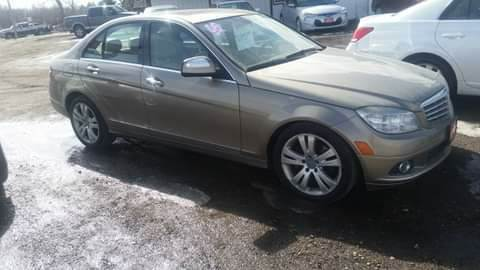 2008 Mercedes-Benz C-Class for sale at Ron Lowman Motors Minot in Minot ND