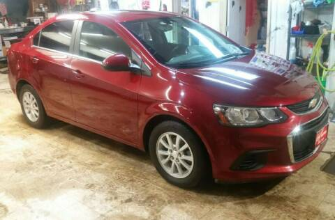 2018 Chevrolet Sonic for sale at Ron Lowman Motors Minot in Minot ND