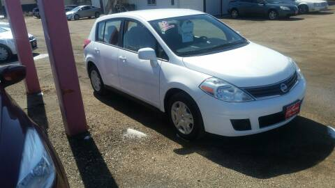 2012 Nissan Versa for sale at Ron Lowman Motors Minot in Minot ND