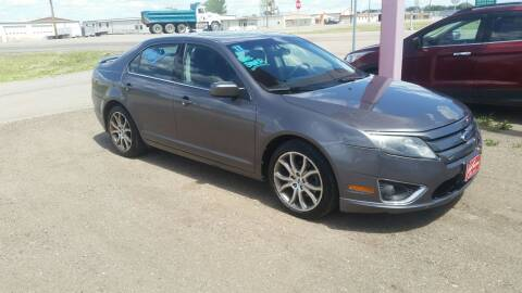 2011 Ford Fusion for sale at Ron Lowman Motors Minot in Minot ND