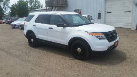 2013 Ford Explorer for sale at Ron Lowman Motors Minot in Minot ND