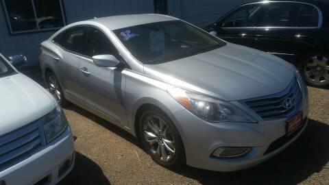 2012 Hyundai Azera for sale at Ron Lowman Motors Minot in Minot ND