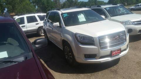 2013 GMC Acadia for sale at Ron Lowman Motors Minot in Minot ND