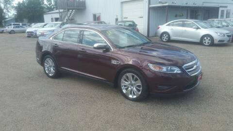 2012 Ford Taurus for sale at Ron Lowman Motors Minot in Minot ND