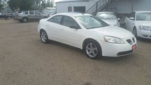 2008 Pontiac G6 for sale at Ron Lowman Motors Minot in Minot ND
