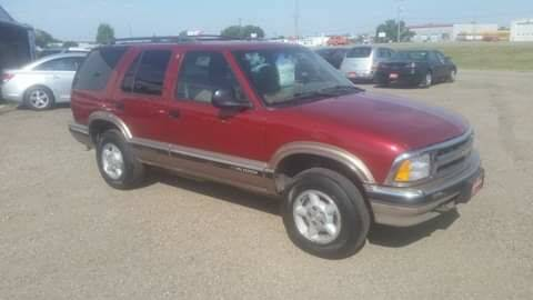 1996 Chevrolet Blazer for sale at Ron Lowman Motors Minot in Minot ND