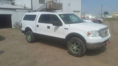 2004 Ford F-150 for sale at Ron Lowman Motors Minot in Minot ND