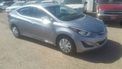2016 Hyundai Elantra for sale at Ron Lowman Motors Minot in Minot ND