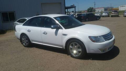 2008 Ford Taurus for sale at Ron Lowman Motors Minot in Minot ND