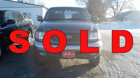 2002 Ford F-150 for sale at Ron Lowman Motors Minot in Minot ND