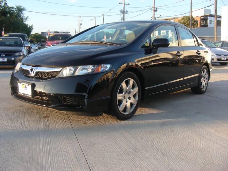 2011 Honda Civic for sale at EURO MOTORS AUTO DEALER INC in Champaign IL