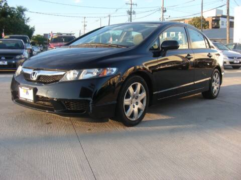 2011 Honda Civic for sale at EURO MOTORS AUTO DEALER INC in Champaign IL