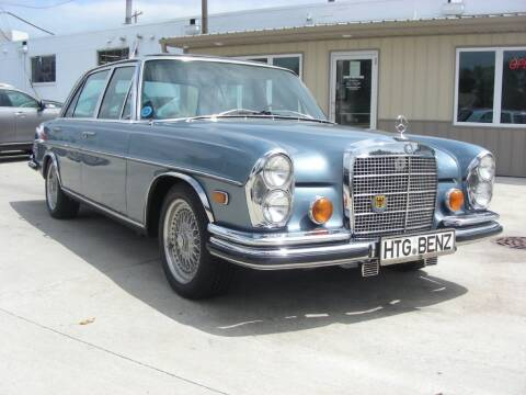 1971 Mercedes-Benz 300-Class for sale at EURO MOTORS AUTO DEALER INC in Champaign IL