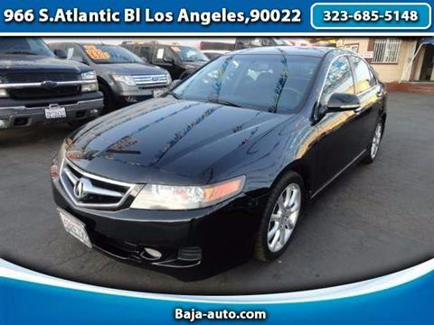 2008 Acura TSX for sale in Los Angeles, CA