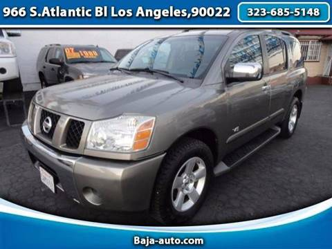 2006 Nissan Armada for sale in Los Angeles, CA
