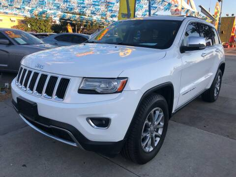 2014 Jeep Grand Cherokee for sale at Plaza Auto Sales in Los Angeles CA