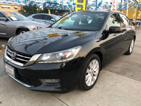 2013 Honda Accord for sale at Plaza Auto Sales in Los Angeles CA