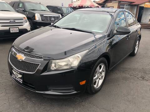 2012 Chevrolet Cruze for sale at Plaza Auto Sales in Los Angeles CA