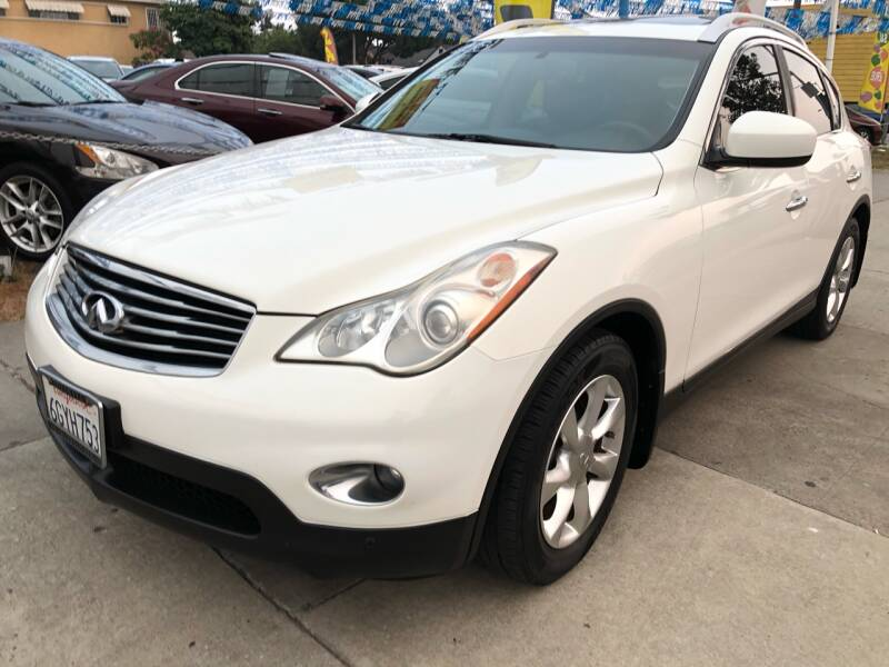 2008 Infiniti EX35 for sale at Plaza Auto Sales in Los Angeles CA