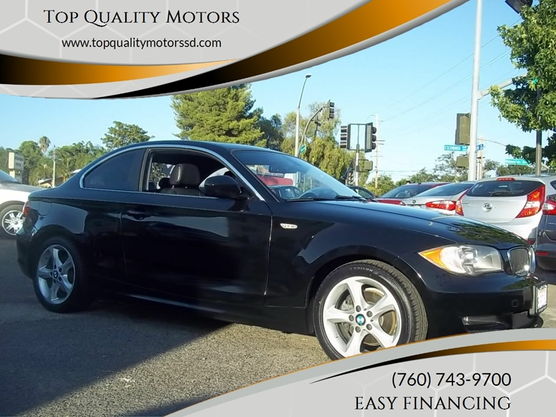 2010 BMW 1 Series for sale at Top Quality Motors in Escondido CA