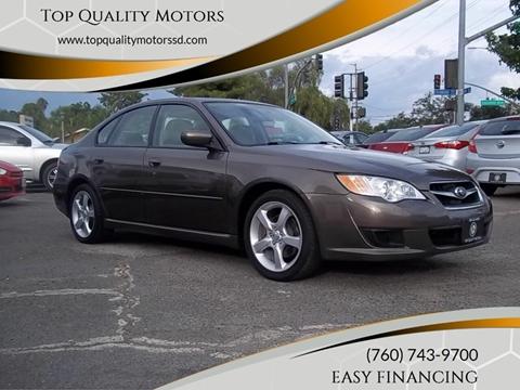 2009 Subaru Legacy for sale at Top Quality Motors in Escondido CA