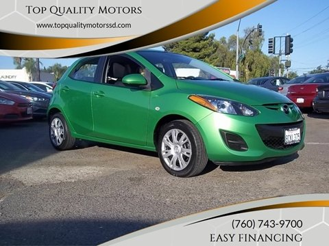 2012 Mazda MAZDA2 for sale at Top Quality Motors in Escondido CA