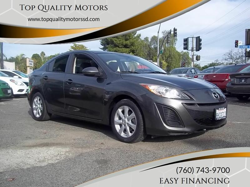 2010 Mazda MAZDA3 for sale at Top Quality Motors in Escondido CA
