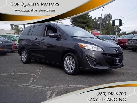 2013 Mazda MAZDA5 for sale at Top Quality Motors in Escondido CA
