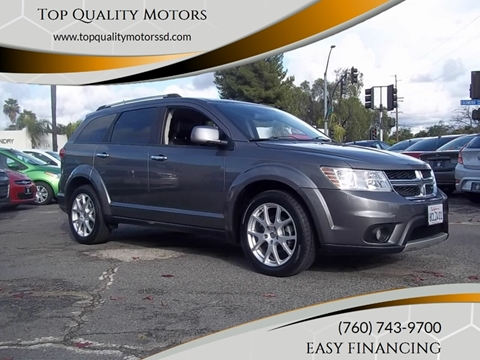 2012 Dodge Journey for sale at Top Quality Motors in Escondido CA