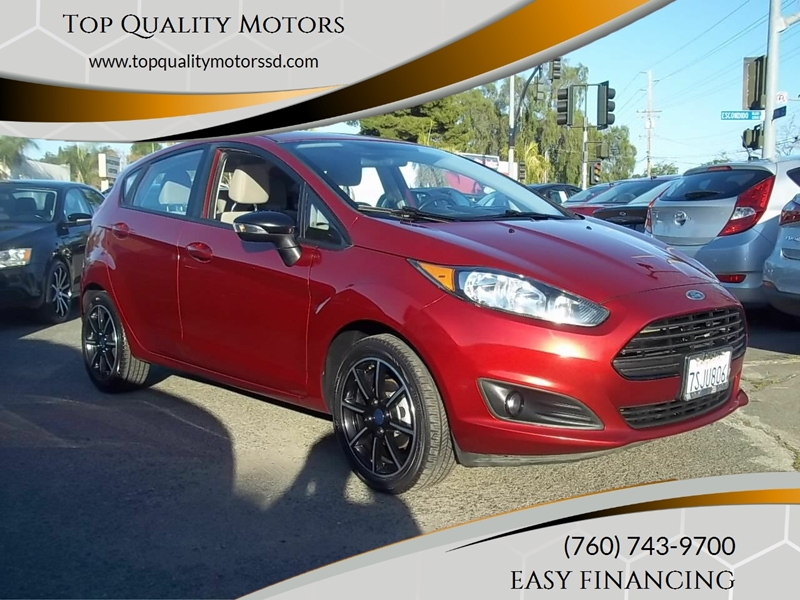 2016 Ford Fiesta for sale at Top Quality Motors in Escondido CA