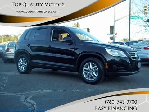 2011 Volkswagen Tiguan for sale at Top Quality Motors in Escondido CA