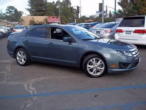 2012 Ford Fusion for sale in Escondido, CA